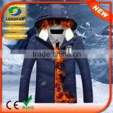Good Quality Winter Hoodie Electrical Heated Snowboard Jackets