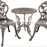 Cast aluminum outdoor dining set/cast aluminum outdoor furniture/2014 modern outdoor furniture