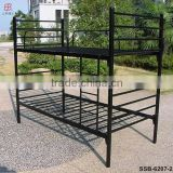 China Factory Cheap Heavy Duty Metal Strong Dormitory Military Double Steel Army Bunk Bed
