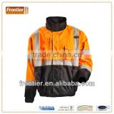 road safety jacket with reflective tape, comply with ANSI 107 Class 3