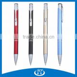 Flexible Click Button Aluminum Ball Pen,Aluminum Ballpoint Pen,Retractable Ballpoint Pen