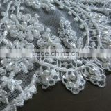Pearls Beaded Embroidery Lace Designs