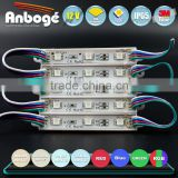 Color changeable RGB IP65 waterproof high power LED Module 5050