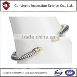 bracelet,hand ring,wristlet,inspection services,factory inspection,final random inspection,during prodcution inspection,QC/QA
