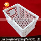470x305x265mm turnover plastic basket for fruit vegetable, food transportation