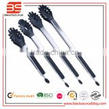 FDA Approved and BPA Free Non-stick and Heat Resistance Silicone Kitchen Food Tongs for Cooking, Serving, function of food tong