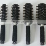 professional 100% boar bristle round ceramic ionic hair brush