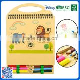 2016 new style children coloring book with coloe pencil for school                                                                         Quality Choice