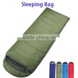 Amazon Hot Selling Hangout Sleeping Bag, Logo Branding 3 Season Envelope Camping Lay Bag