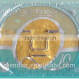 Mendior Q10 24K nano facial mask Gold crystal collagen beauty face mask Wholesale and support OEM