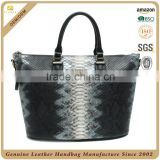CSS1523-001- python snake skin leather bag women handbags mochila wayuu mochila bags from guangzhou china supplier
