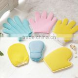 wholesale high grade exfoliating shower gloves soft,exfoliating gloves bath mitt wholesale