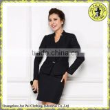 Elegant skirt suits for office ladies/ladies skirt suits 2014                                                                         Quality Choice