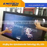 touch screen IR multi touch frame support ture 2, 4, 6, 10 touch point for floor stand touch monitor