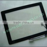 promote original 10.1 inch digitizer glass touch panel for ipad 4 with home button and adhesive black