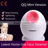 Newst home use mini facial steamer vaporizer with ozone