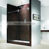 2013 glass sliding door shower room system, bathroom door fitting