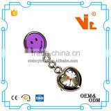 V- NW35 Heart shaped digital smile nurse pocket watch
