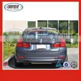 sedan car body kits 2012 3 series FOR BMW F30 P type rear trunk boot spoiler lip wing carbon fiber
