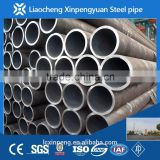ASTM A53 GR.B 406*12.7 (sch40) hot rolled seamless carbon steel pipe PAINTING AND END CAP