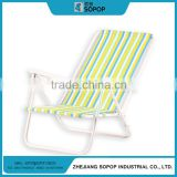 New Products Design Adjustable Aluminum Outdoor Camp beach chair foldable with no wheels
