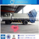 Dongfeng 4*2 good quality low price small compression garbage truck for sale in singapore, dubai