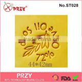 ST026 PRZY handmade diy 72% olive oil shape soap stamp
