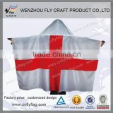 Super quality promotional ad custom adult children body flag
