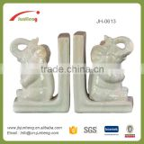Resin crafts glazed ceramic modern bookends, turkish home accessories
