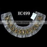 wholesale beaded mesh handmade collar