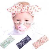 2016 New Fashion Cute Boys Girls Unisex Hairband Halloween Cotton Headwrap Baby Bowknot Headband Christmas Turban Accessories