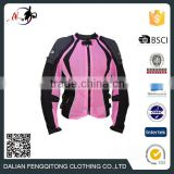 Fashionable Motorcycle Jacket Customized Breathable Air Mesh Jacket