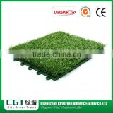 Courtyard color artificial turf tile/decoration synthetic turf tile lawn for greenhouse garden