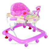 8 wheels rolling baby walker factory,old fashioned baby walkers