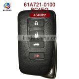 INquiry about AK052009 custom car keys for Lexus smart card 3+1buttons 434MHZ 8A Chip BC4EQ