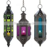 colorful glass arabic lanterns,Wholesale decorative arabic metal lanterns,Hanging lamp lanterns,green lanterns