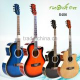"40 "" hot - selling low price wooden manfacture acoustic guitar cheapest price acoustic guitar"
