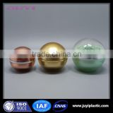 Beautiful Color Ball Shape acrylic cosmetic jar for skin care 15g cosmetic packaging
