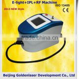 2013 laser tattoo removal slimming machine cavitation E-light+IPL+RF machine semi permanent makeup machine