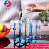 Multifunctional Storage Foldable Portable Plastic Cup Holder Tray Table Glass Cup Holder