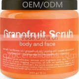 Grapefruit Scrub for Face and Body Facial Scrub Exfoliator