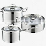Casserole stainless steel electric cooking stock pots