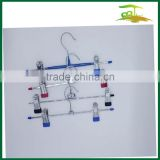 wire pant metal hanger with clip