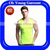 wholesale fitness clothing dri fit mens tank top gym wear singlets100%polyester tank top basketball jersey sport t shirt running