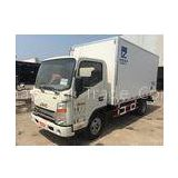 JAC 4*2 6ton refrigeration truck small freezer truck with fiberglass panels for fresh transportation