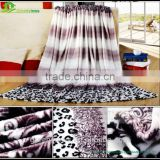 Wholesale 100% polyester printed flannel baby blanket polyester bed spreads flannel bath sheet fleece blanket rug