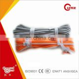 Ordinary Reflective Piping 100% Polyester Fabric For Safety Vests