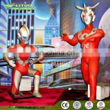 Cartoon Hero Of Ultraman Robot