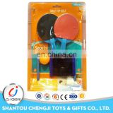 New design customized top quality cheap children sport toys ping pong rackets