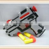 New product safe kids plastic soft bullet gun toy